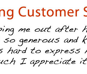 amazing customer service quote from customer Pride Auto Care Denver Parker Centennial Highlands Ranch