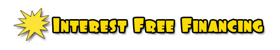 pride interest free financing car repair