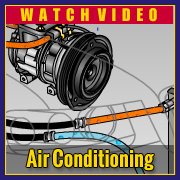 car and truck air conditioning animation