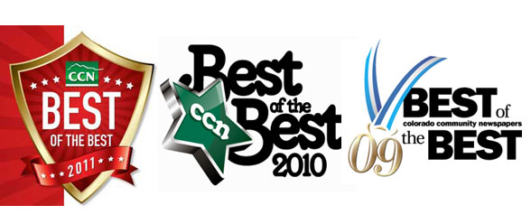 best of the best for 3 years running in parker centennial and littleton co