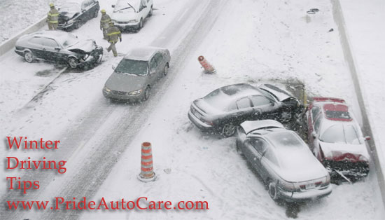 Denver Colorado winter driving tips from pride auto care