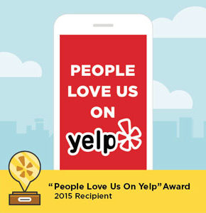 people love us on yelp logo