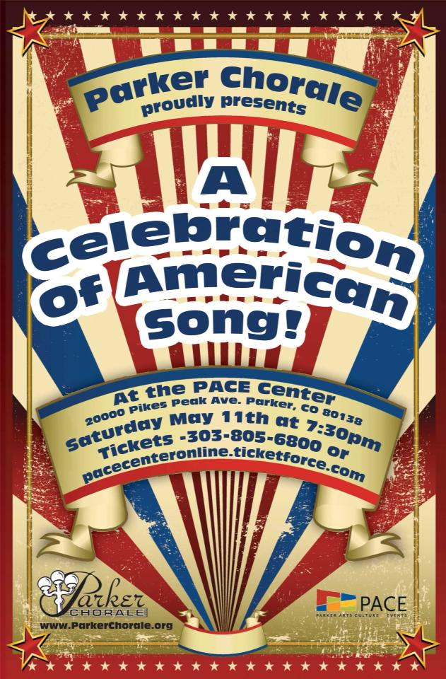 A celebration of American Song Poster Parker Chorale