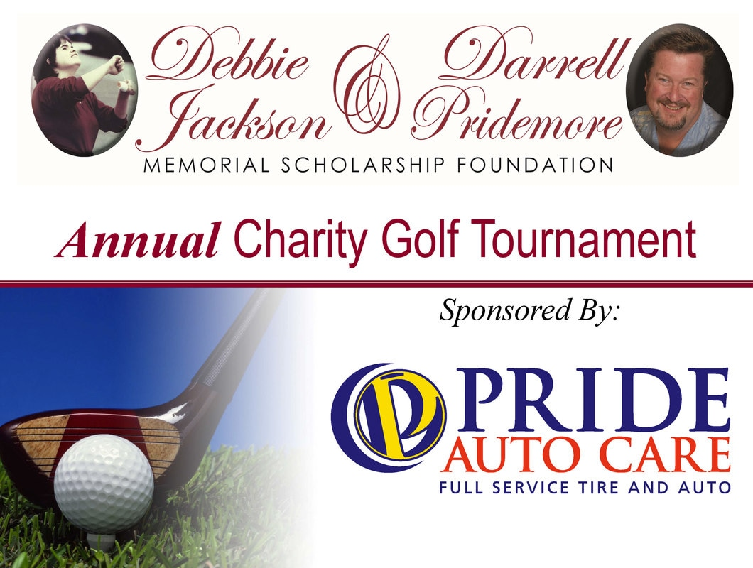 debbie Jackson Darrell Pridemore scholarship foundation golf tournament parker co
