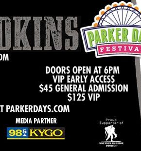 trace adkins giveaway parker days