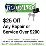 Car Repair Coupons at Pride Auto Care