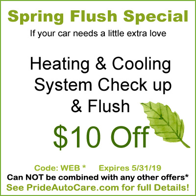 heating and cooling system flush coupon