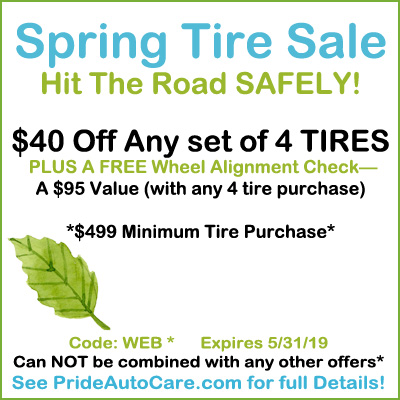 spring tire sale parker centennial littleton colorado