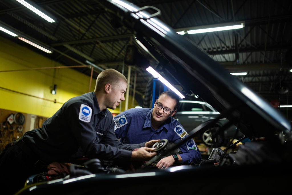 services ase repair certified service certification